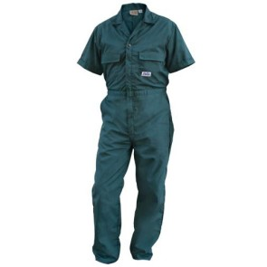 Men's Unlined Poplin Jumpsuit - Blank