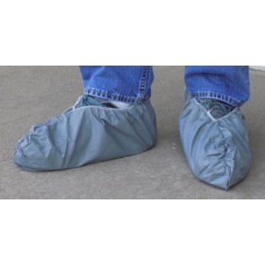 Gray Skid Resistant Shoe Covers 5 pair/bag:20 bag