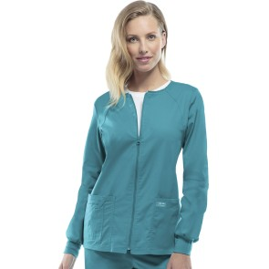 Womens Zip Front Jacket