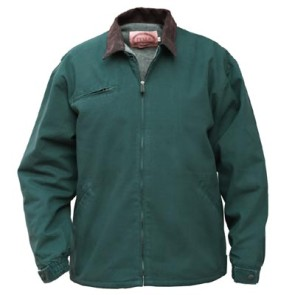 Cheyenne Hunter Green Jacket Duck Washed