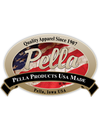 Pella Vet USA Made apparel